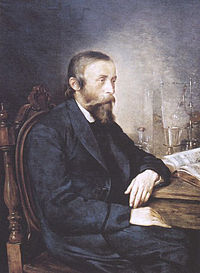 Ignacy Łukasiewicz - creator of the process of refining of kerosene from crude oil.