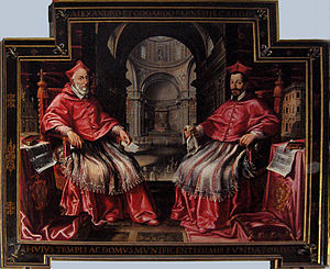 Odoardo Farnese (cardinal) - Cardinals Alessandro and Odoardo Farnese