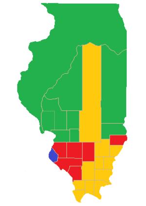 Illinois gubernatorial election, 1822 - Image: Il gub election, 1822