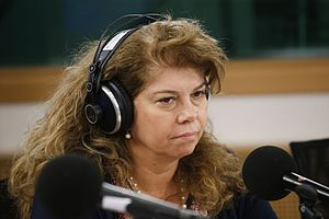 Vice President of Bulgaria - Image: Iliana Iotova Bulgarian part Citizens' Corner debate With or without Schengen? (26448779462)