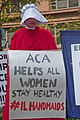 Illinois Handmaids Speak Out Stop Brett Kavanaugh Rally Downtown Chicago Illinois 8-26-18 3533 (43406980045).jpg