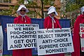 Illinois Handmaids Speak Out Stop Brett Kavanaugh Rally Downtown Chicago Illinois 8-26-18 3534 (30446030348).jpg