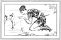 Illustration inset at page 199 of Indian Fairy Tales (1892).png
