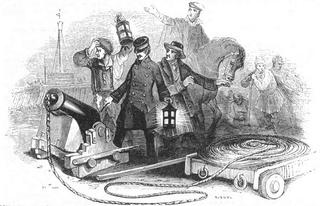 Manby mortar 19th-century sea rescue device