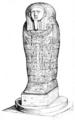 Illustrirte Zeitung (1843) 17 265 2 Vordere Ansicht des Sarkophags.PNG