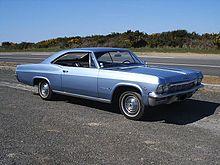 La Chevrolet Impala MY 1965