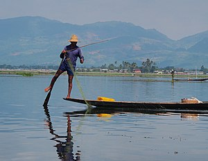 Inle Lake - Fisherman at Inle