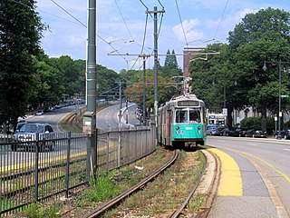 Chestnut Hill Avenue station MBTA subway station