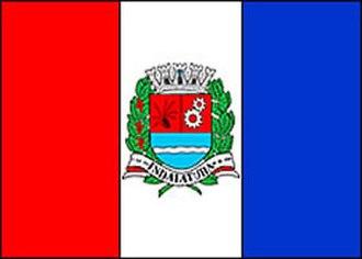 Indaiatuba - Image: Indaiatuba bandeira