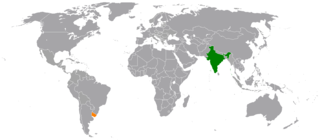 India–Uruguay relations Diplomatic relations between the Republic of India and the Eastern Republic of Uruguay