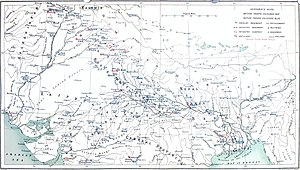 Indian Mutiny Map Showing Position of Troops on 1st May 1857.jpg