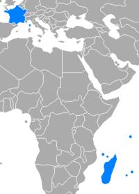 Carte De Locean Indien Occidental.Commission De L Ocean Indien Wikipedia