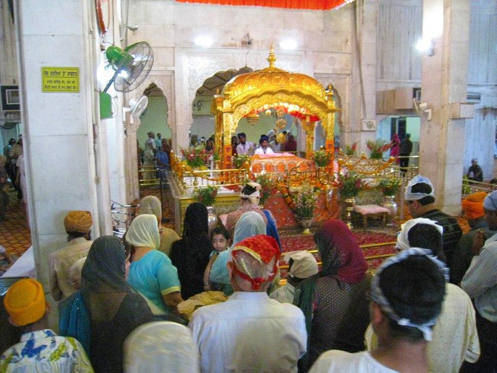 InsideSikhGurdwara