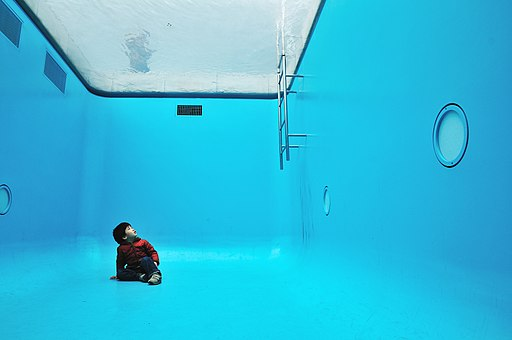Inside the Swimming Pool, 21st Century Museum of Contemporary Art
