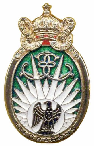 13th Parachute Dragoon Regiment - Image: Insigne du 13e RDP