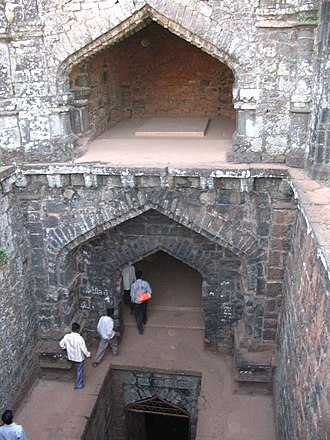 Panhala Fort - Andhar Bavai - the Hidden Well