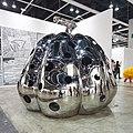 Installation by Yayoi Kusama Pumpkin, 2010 (stainless steel).jpg