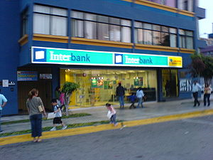Interbank - Interbank office in San Felipe