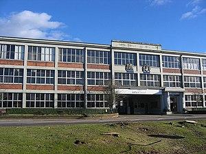 Arrol-Johnston - Former Arrol-Johnston factory, Heathhall