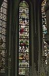 interieur koor, overzicht glas in loodramen - lith - 20334109 - rce