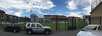 Stadio Fratelli Paschiero - Image: Interno Stadio Paschiero Cuneo (2016 06)