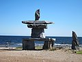 Inukshuk on the shores of Hudson Bay.jpg