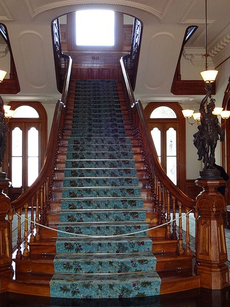 File:Iolani Palace - Grand Staircase.jpg