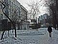 Irkutsk. February 2013. Cinema Barguzin, regional court, bus stop Volga, Diagnostic Center. - panoramio (35).jpg