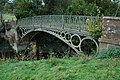 Iron bridge over Borle Brook - geograph.org.uk - 1544670.jpg