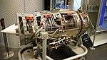 Ishikawajima-Harima F3-IHI-30 turbofan engine(cutaway model) left front view at Hamamatsu Air Base Publication Center November 24, 2014.jpg