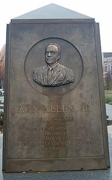 Ivan Allen Jr, Centennial Olympic Park.jpg