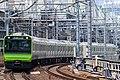 JRE E235 series Yamanote Line train.jpg