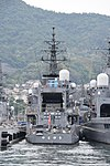 JS Yamayuki(TV-3519) behind view at JMSDF Kure Naval Base May 6, 2018.jpg