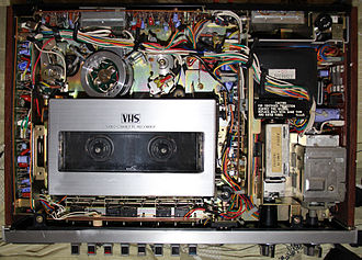 JVC HR-3300 - Inside the JVC HR-3300U.