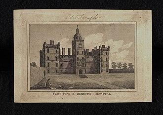 George Heriot's School - Front view of Heriot's Hospital