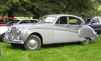 Jaguar Mark VIII - Image: Jaguar Mark VIII in Hertfordshire