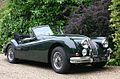 Jaguar XK140 Convertible Classic Car. Hampshire UK.jpg