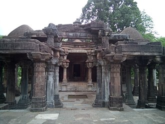 Sabarkantha district - jain temple complex in polo monument