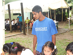 Death of Jairo Mora Sandoval - Mora supervising a WIDECAST event in 2010