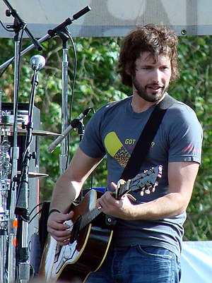 James Blunt - Blunt at a concert in Golden Gate Park in San Francisco, 2007