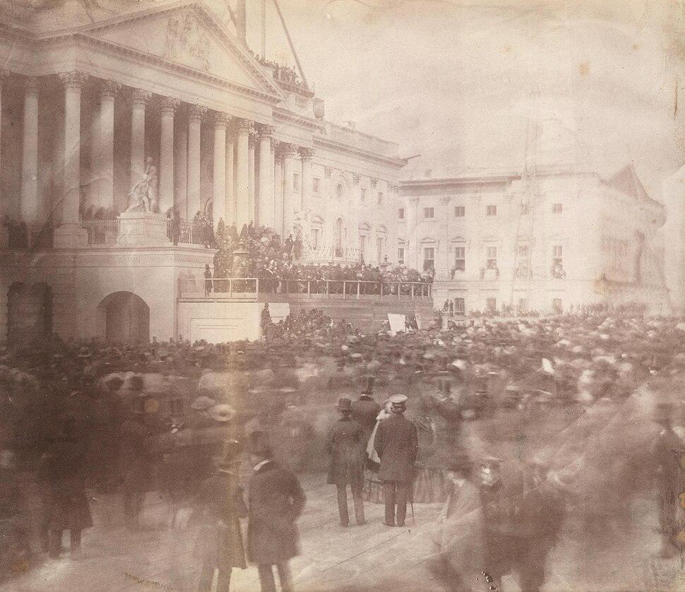 James Buchanan inauguration 1857