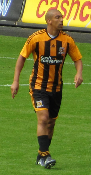 James Harper (footballer) - Harper playing for Hull City in 2011