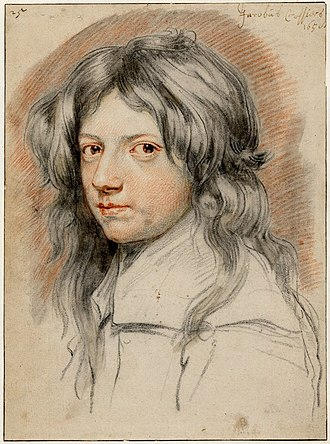 Jan Cossiers - Portrait of a young man, possibly Jacobus Cossiers
