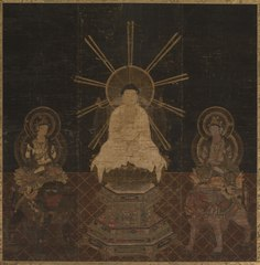 Shaka attended by Fugen and Monju
