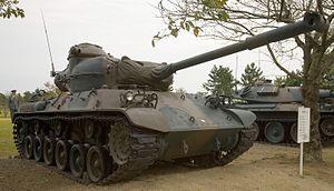 Japanese Type 61 tank - 1