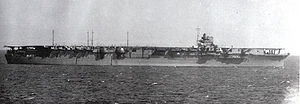 Japanese aircraft carrier Zuikaku - Zuikaku in November 1941.