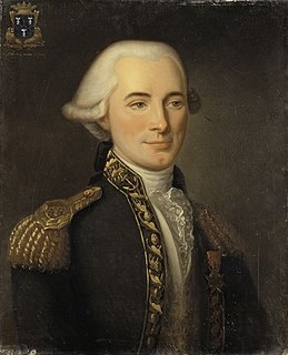 Jean-François du Cheyron du Pavillon French Navy officer of the War of American Independence