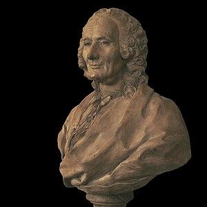 Opéra de Dijon - Bust of the Dijon-born composer Jean-Philippe Rameau by Caffieri. Opéra de Dijon staged a rare revival of his opera Dardanus in 2009.