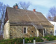 Jean Hasbrouck House (1721) in New Paltz.
