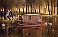 Jean joseph xavier bidaud, il parco a mortefontaine, 1806, 02 barca.jpg